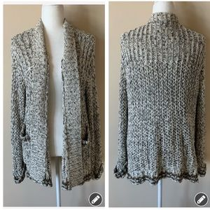 Free People chunky knit open front sweater #1473
